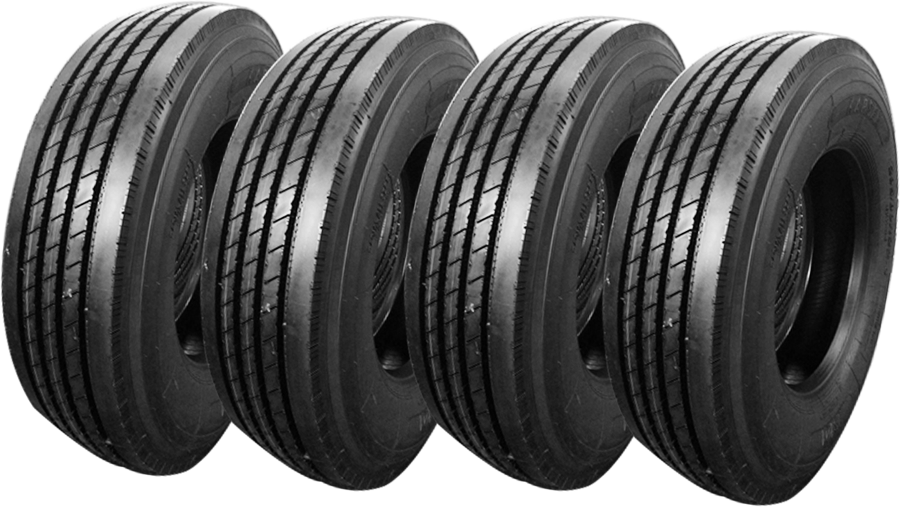 a picture of tire casings